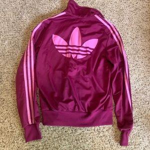Vintage Adidas Track Jacket Trefoil Logo